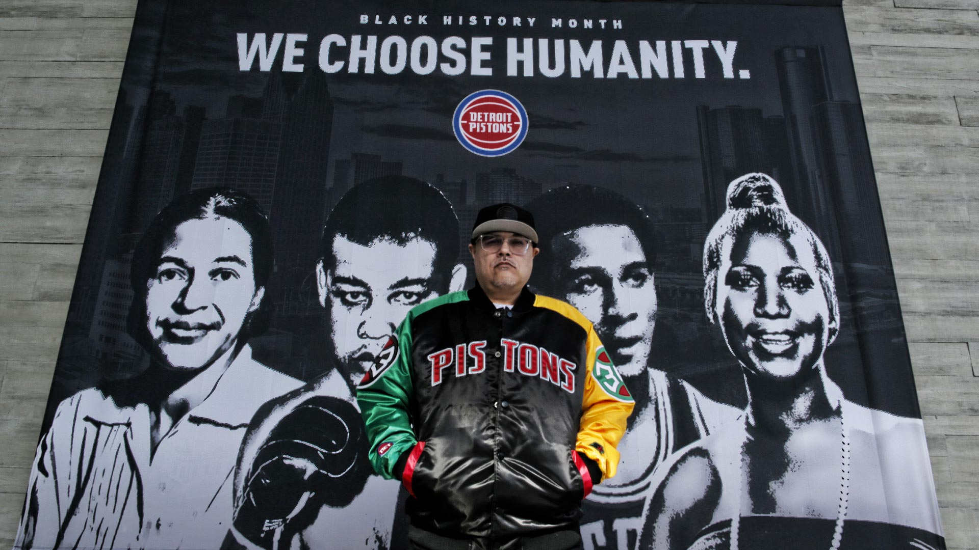Detroit Creative, Presented by Crown Royal: BHM Starter Jacket w/ Ty Mopkins