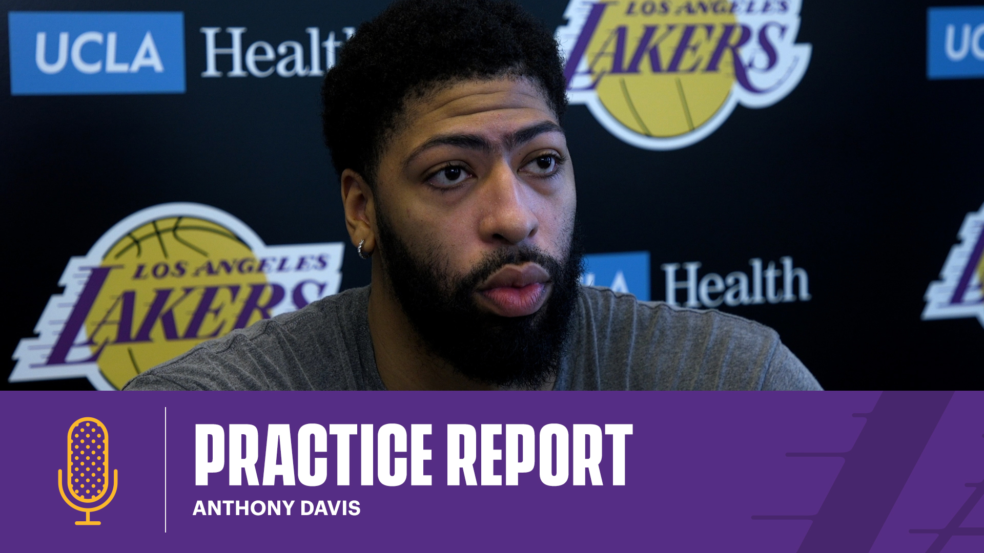 Practice Report: Anthony Davis (2/11/21)