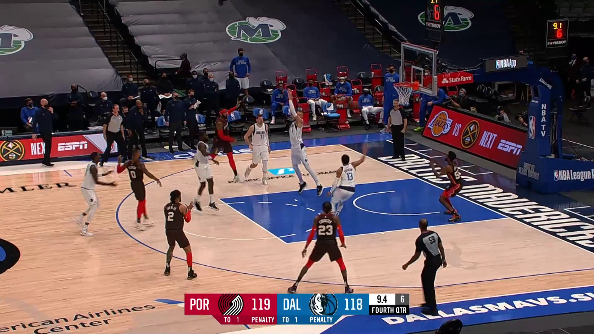 Trail Blazers 121, Mavericks 118 | Game Highlights by McDelivery
