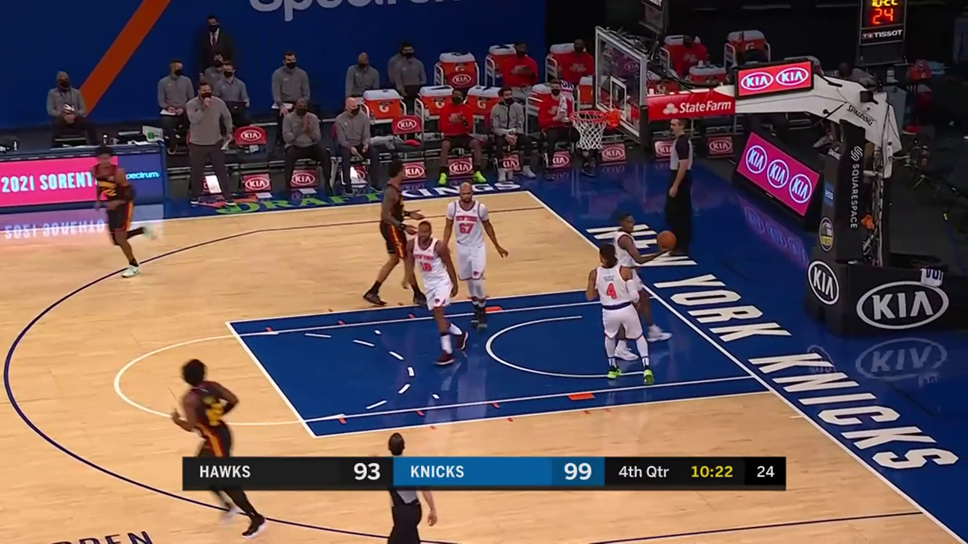 Gallinari Comes Off The Bench For 16 Points vs. Knicks