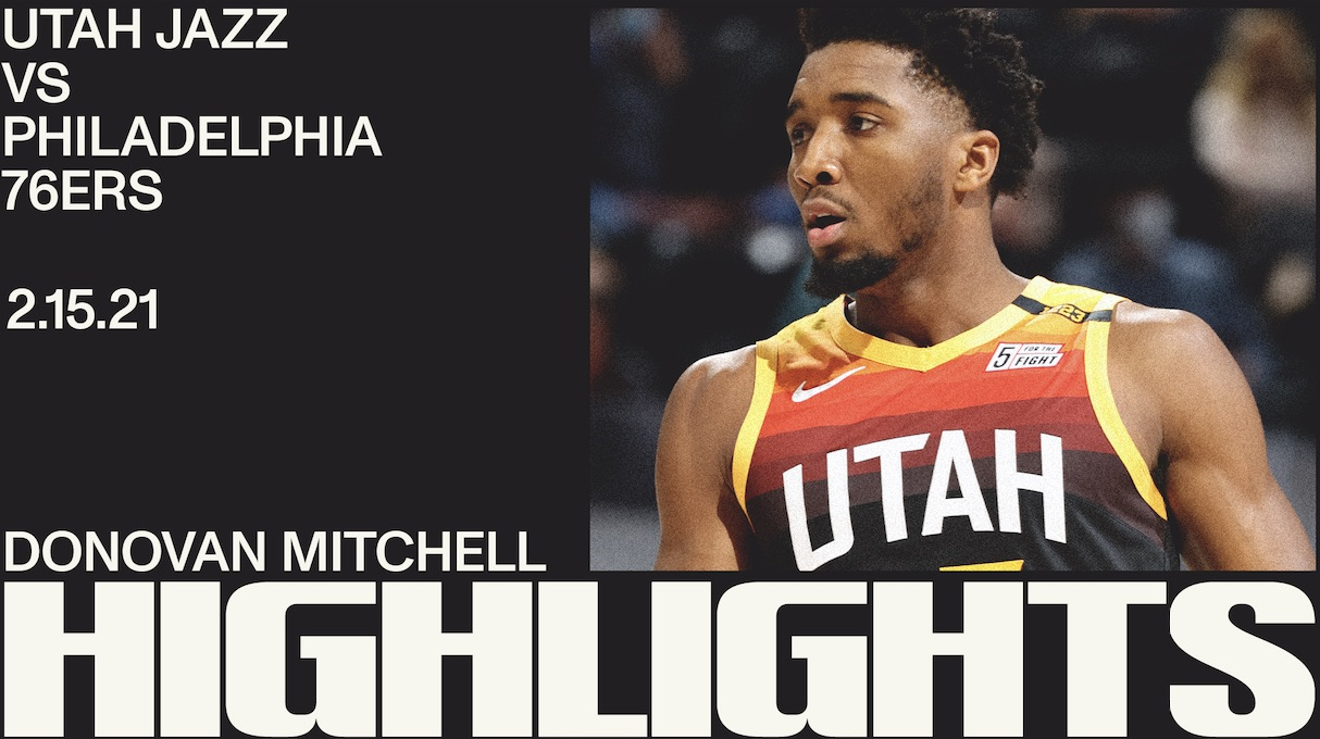 Highlights: Donovan Mitchell — 24 points, 5 assists
