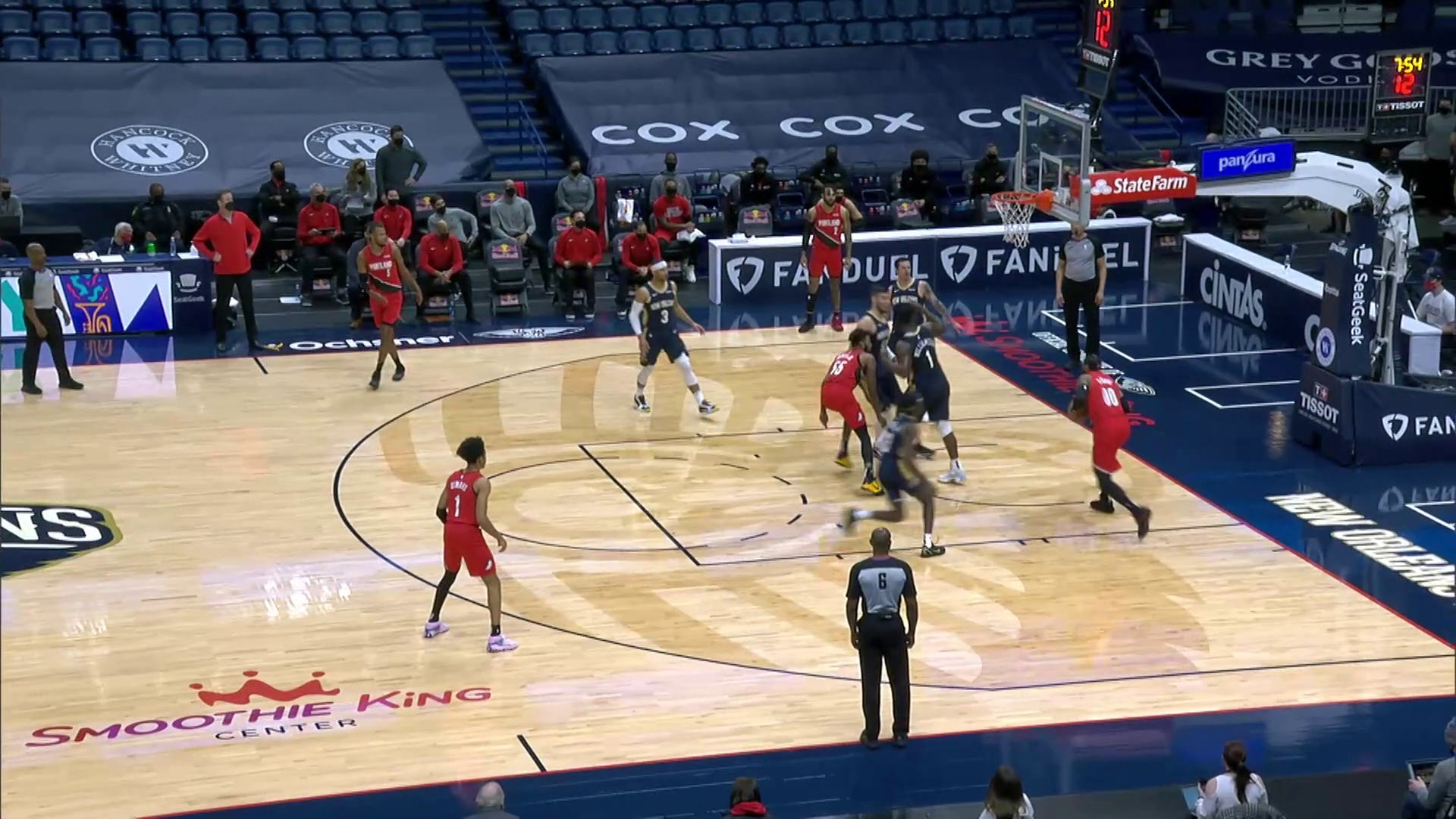 Trail Blazers 126, Pelicans 124 | Game Highlights by McDelivery