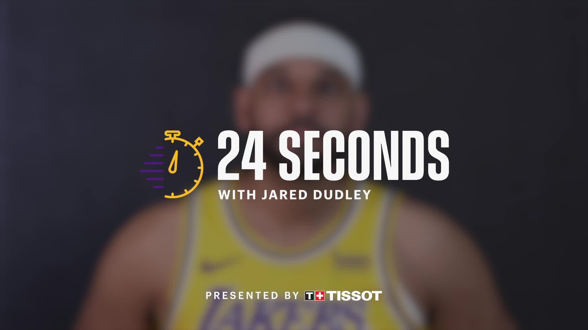 24 Seconds with: Jared Dudley
