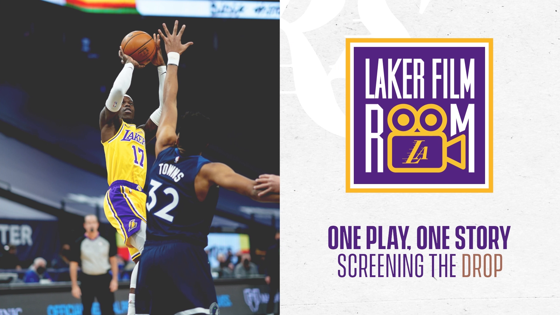Laker Film Room: One Play, One Story - Screening the drop