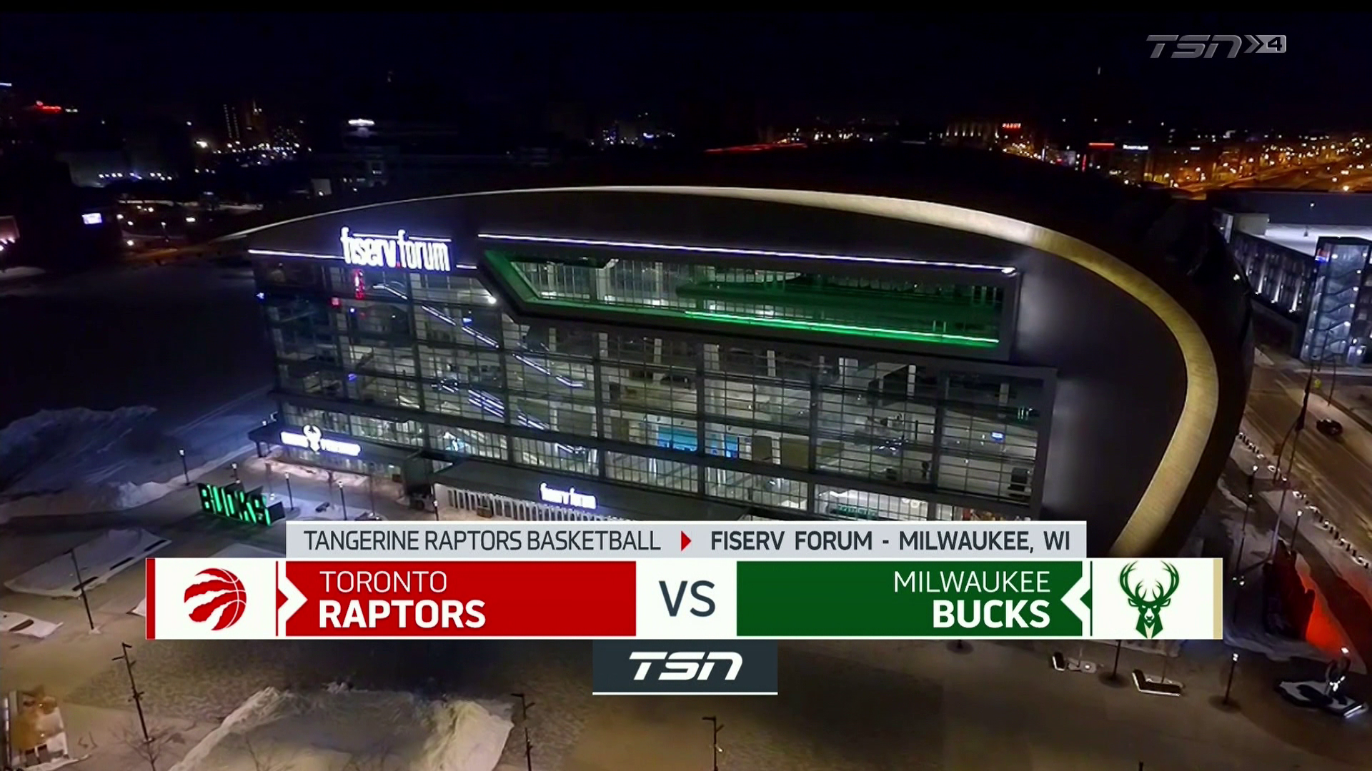 Tangerine Game Highlights: Raptors at Bucks - February 18, 2021