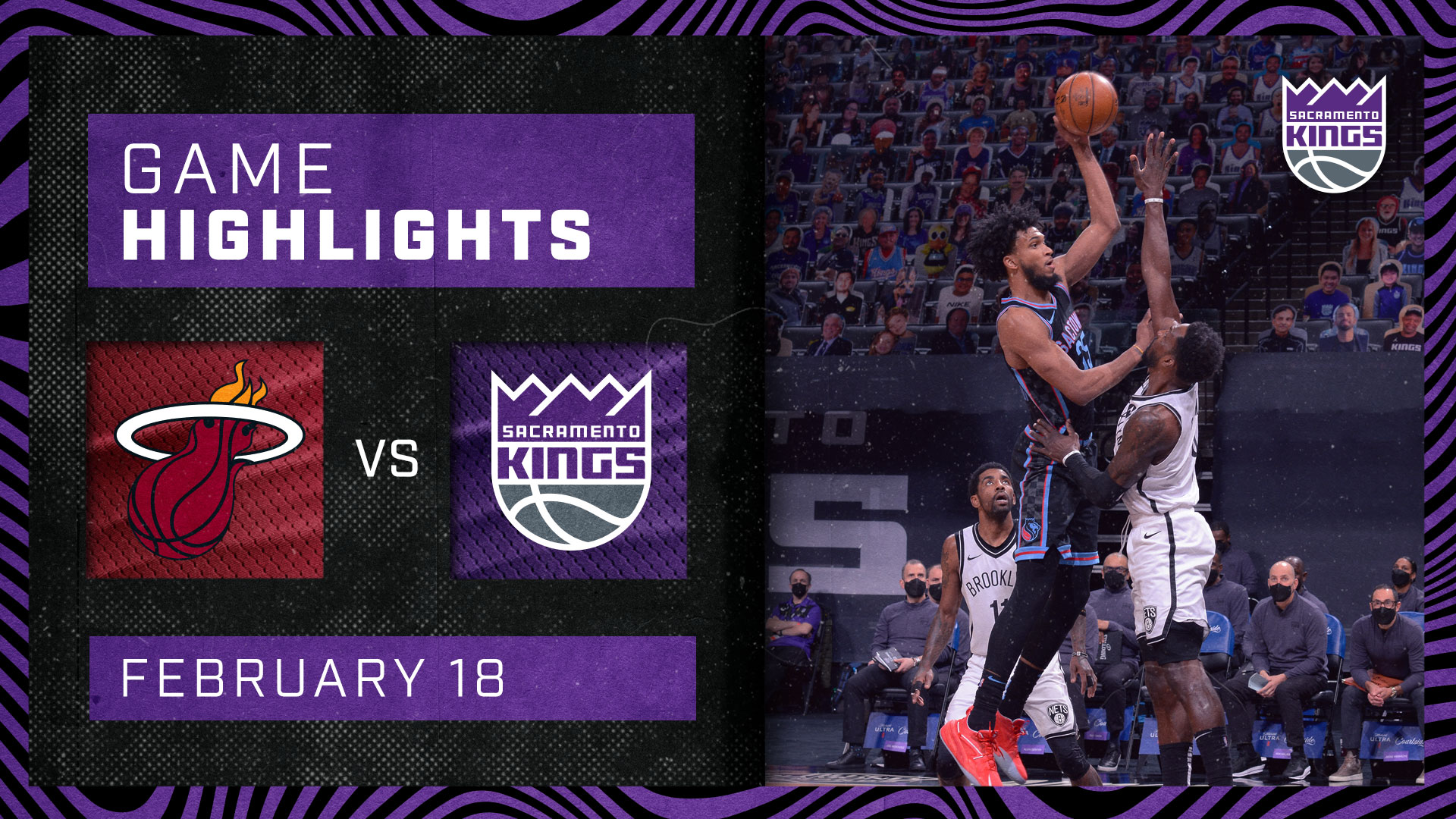 Kings Close Out Homestand in Heated Battle with Miami | Kings vs Heat 2.18.21