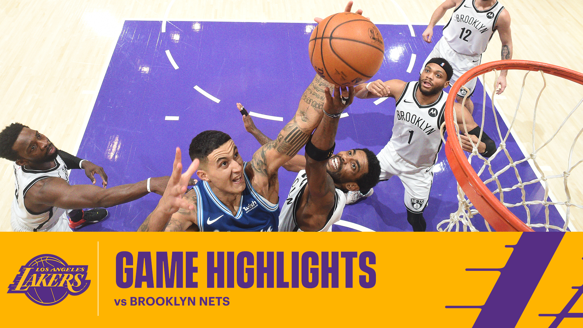HIGHLIGHTS | Los Angeles Lakers vs Brooklyn Nets