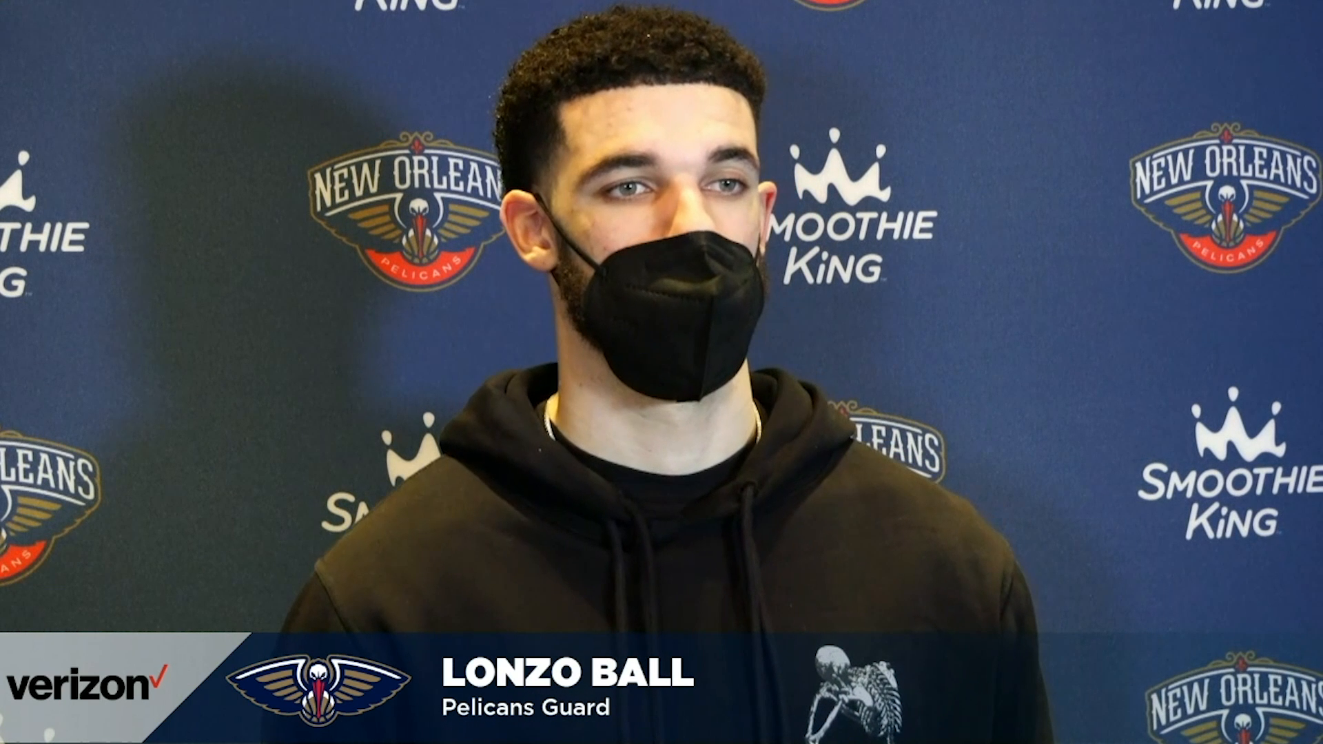 Pelicans-Suns Postgame Interview: Lonzo Ball 2-19-21