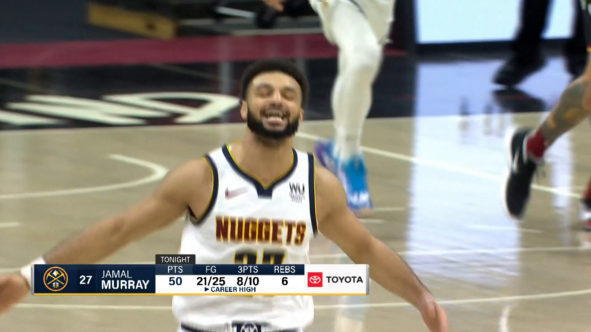 Toyota Game Recap: Nuggets rout Cavs off Jamal Murray's 50-point night (02/19/2021)