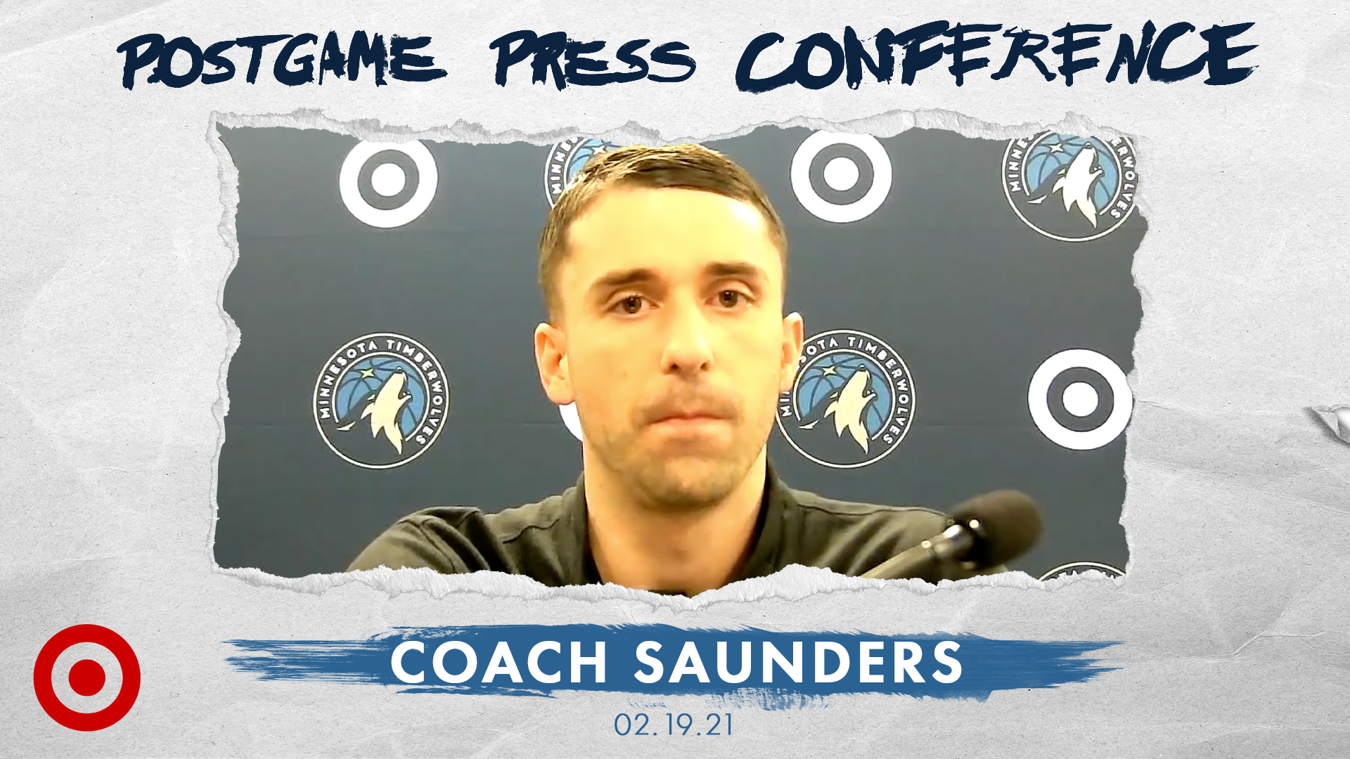 Coach Saunders Postgame Press Conference - February 19, 2021
