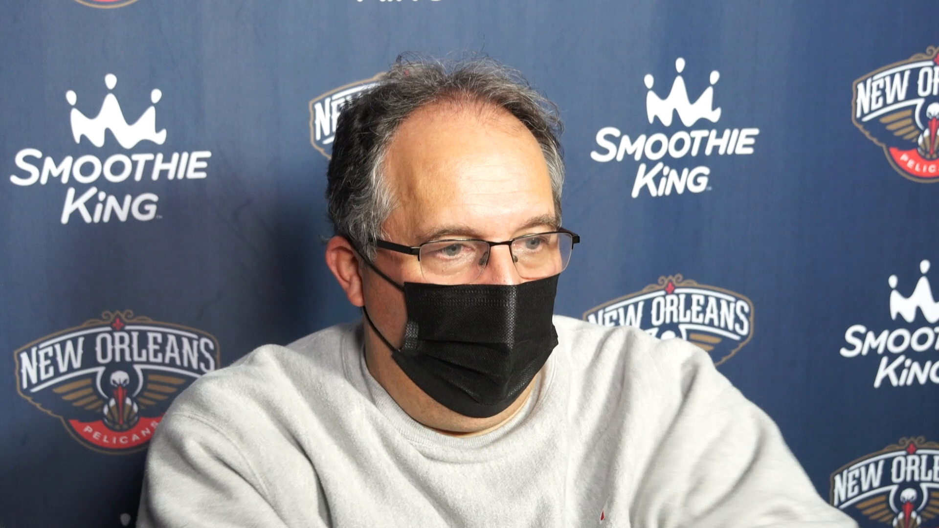 Stan Van Gundy talks importance of closing games down the stretch | Pelicans Post-Practice 2/20/21