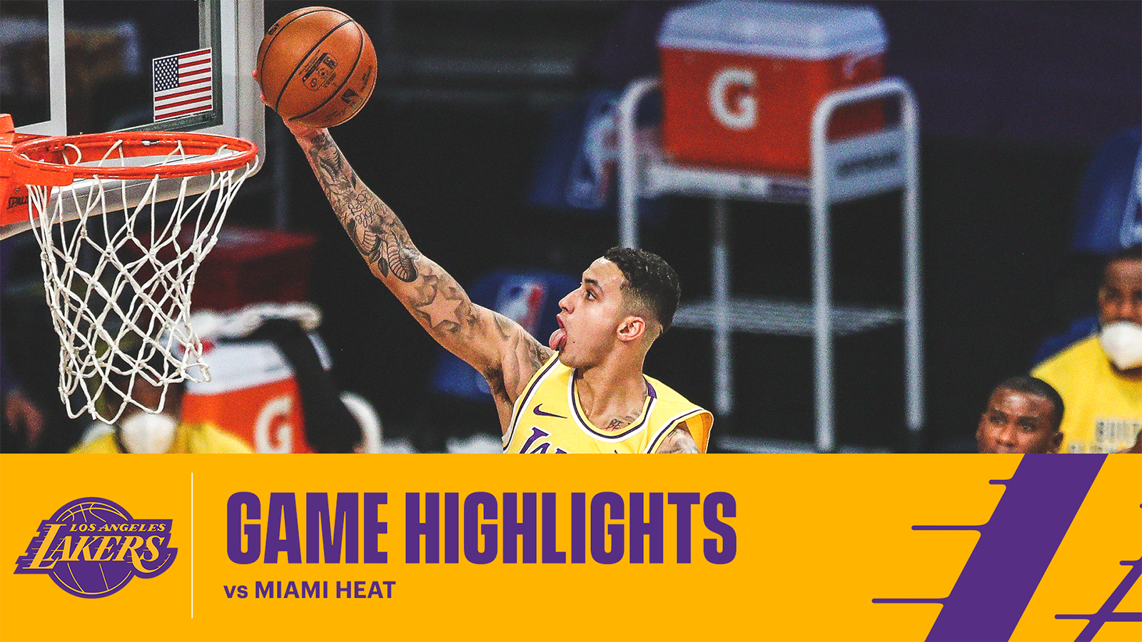 HIGHLIGHTS | Kyle Kuzma (23 pts, 4 reb) vs Miami Heat