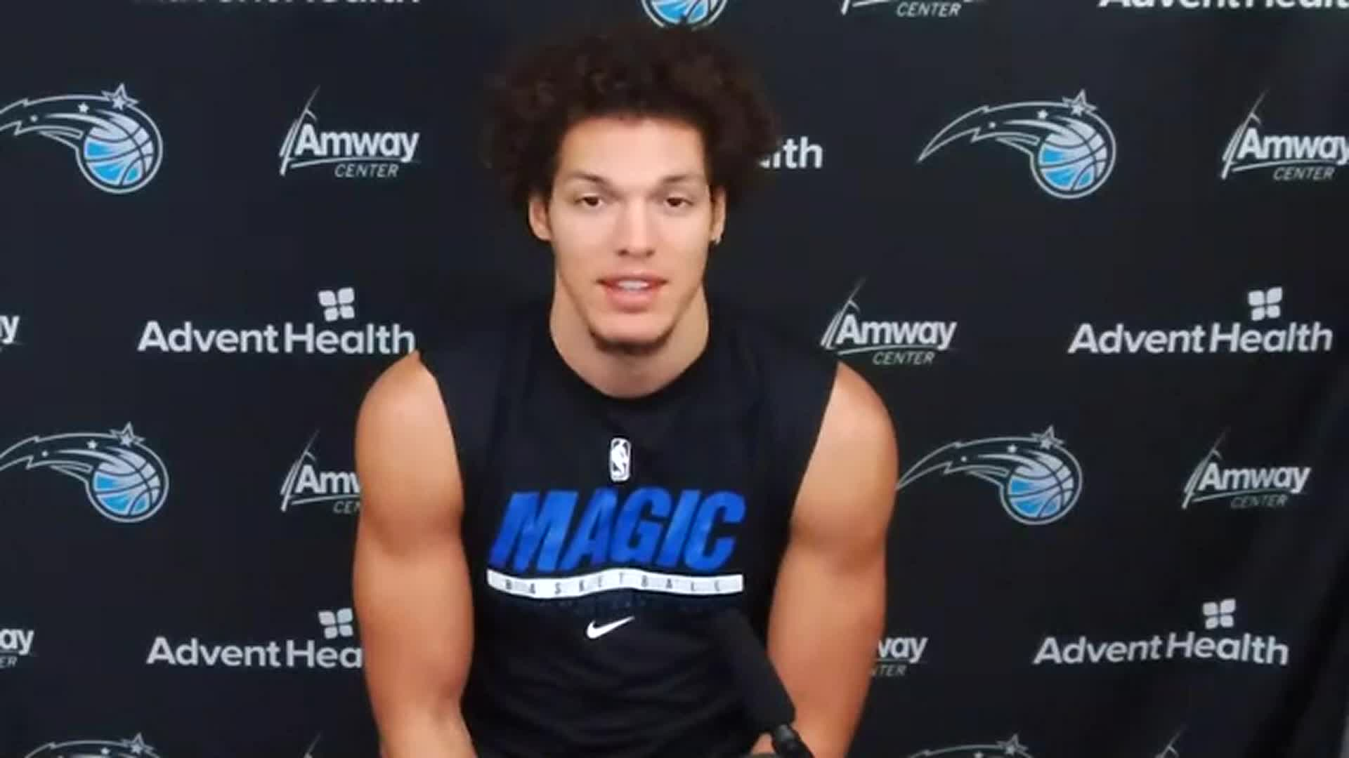 Aaron Gordon on {CodeOrlando} Donation