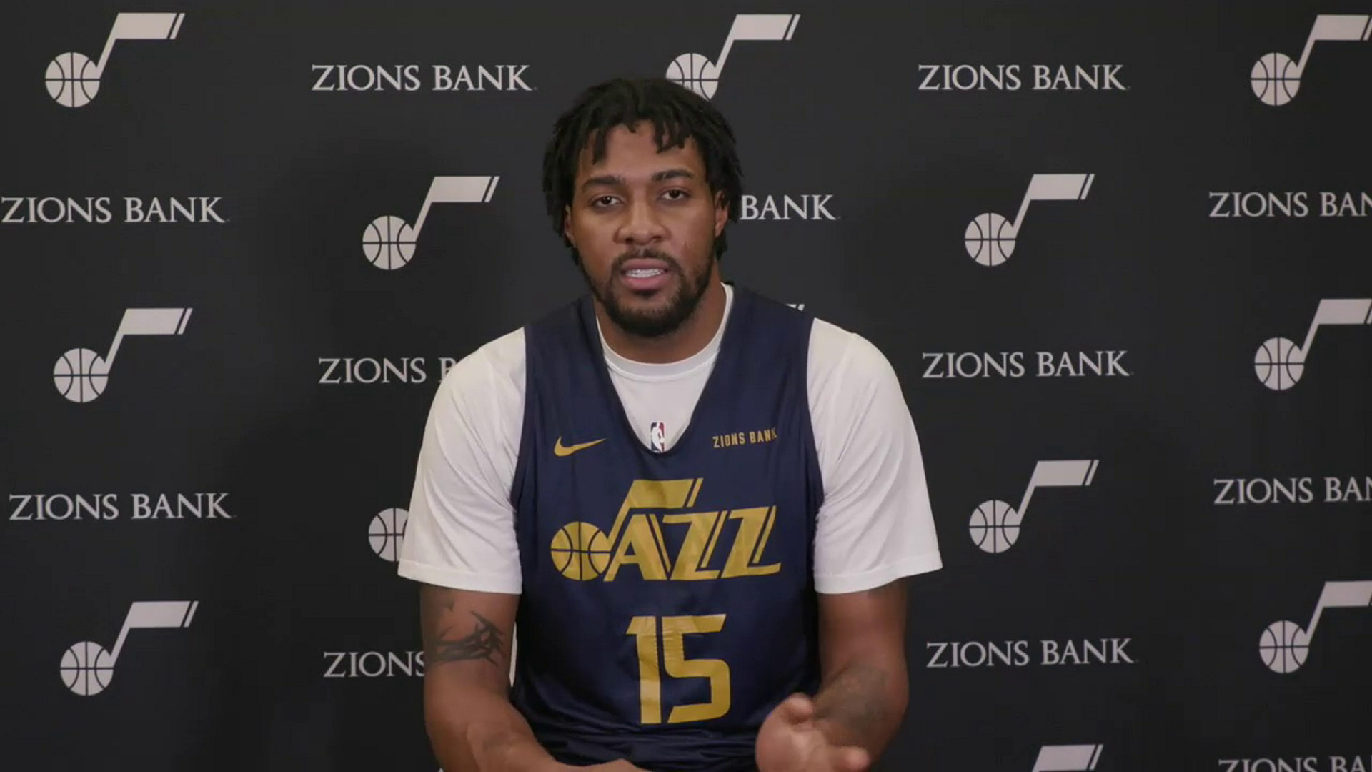 Practice 2.21—Derrick Favors thinks Mike Conley deserves All-Star recognition