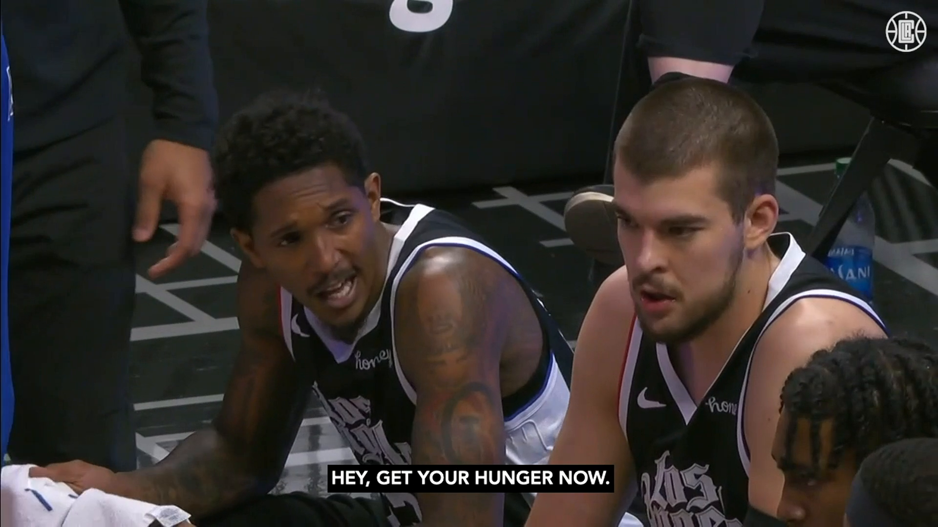 Lou Williams Mic'd Up vs Jazz | (2.19.21)