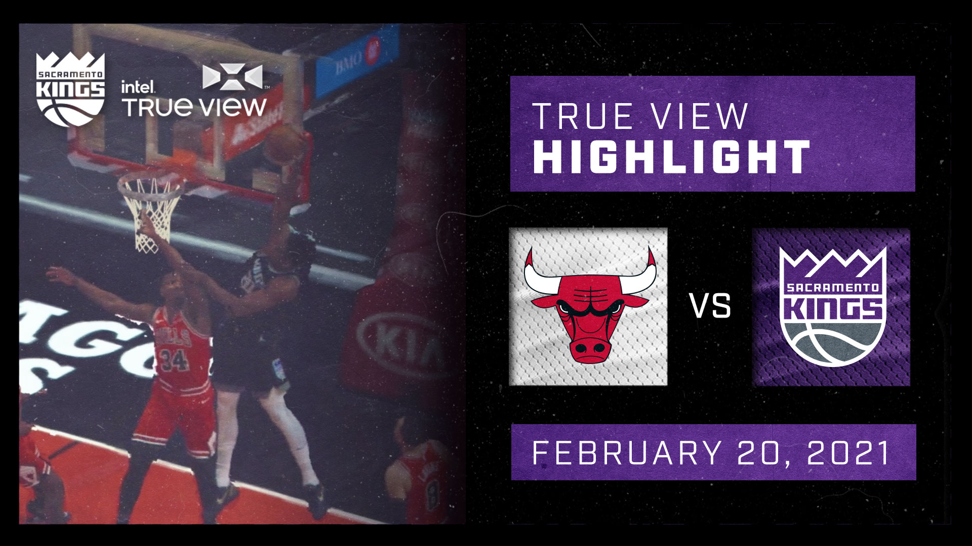 Intel True View Highlight - Fox Alley-Oop to Whiteside vs Bulls 2.20.21