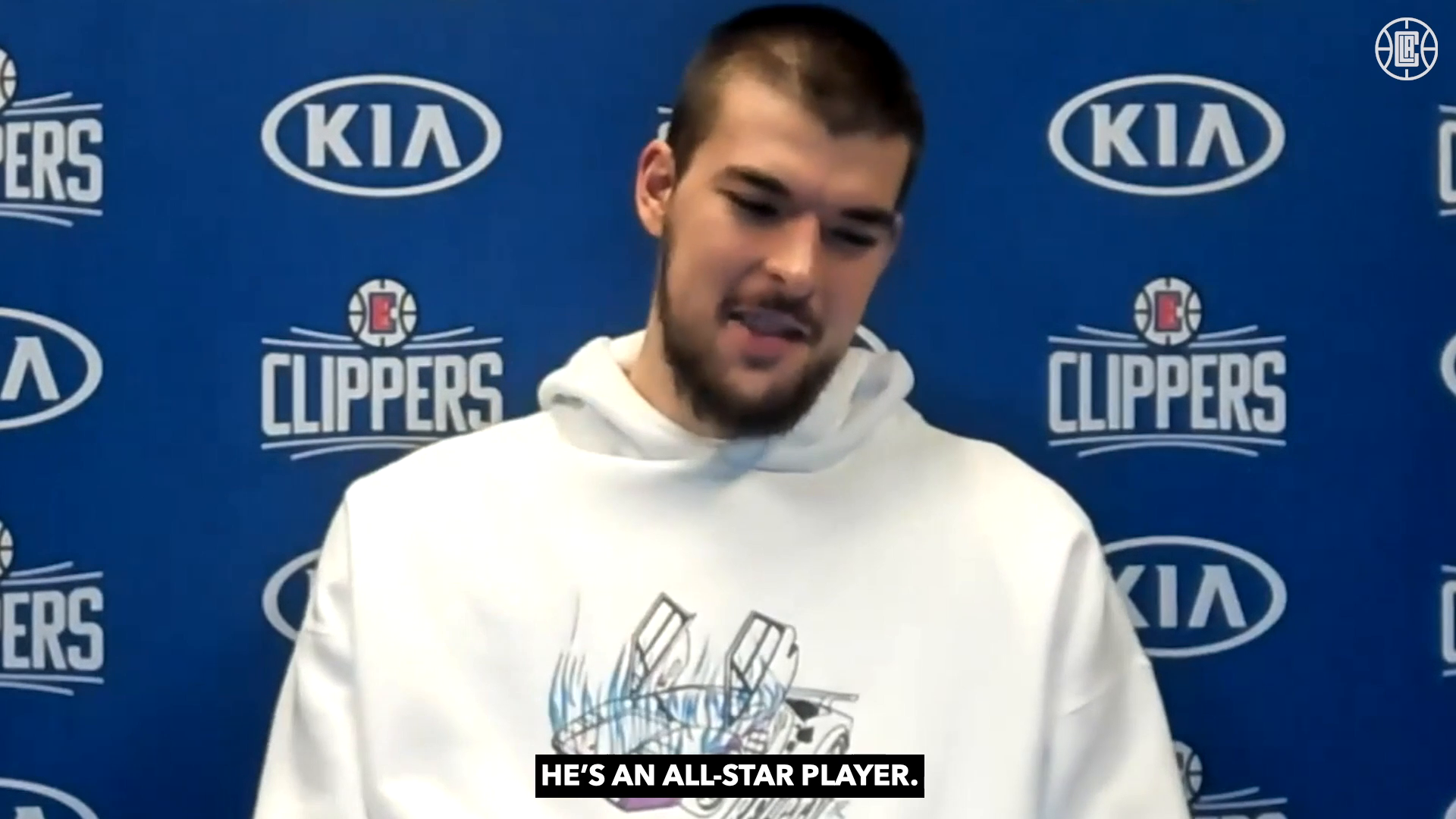 Zubac on Paul George's Performance | Clippers vs Nets | (2.21.21)