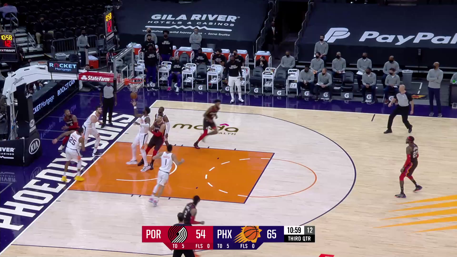 Trail Blazers 100, Suns 132 | Game Highlights by McDelivery