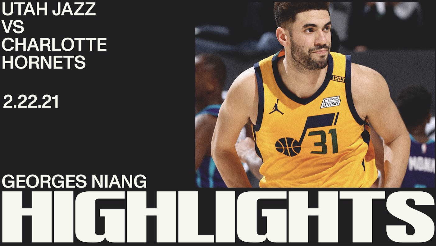 Highlights: Georges Niang — 21 points, 7 3-pointers