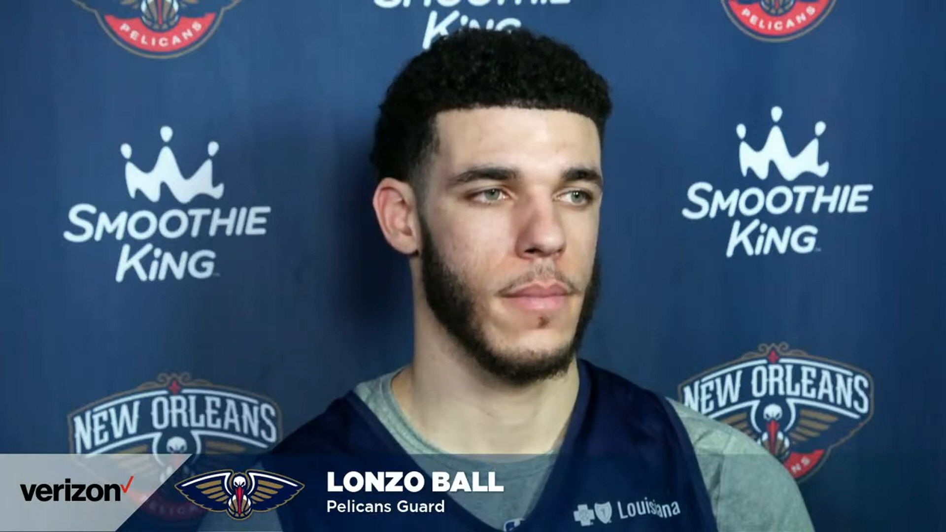 Lonzo Ball talks playing fast and consistent | Pelicans Post-Practice 2/23/21