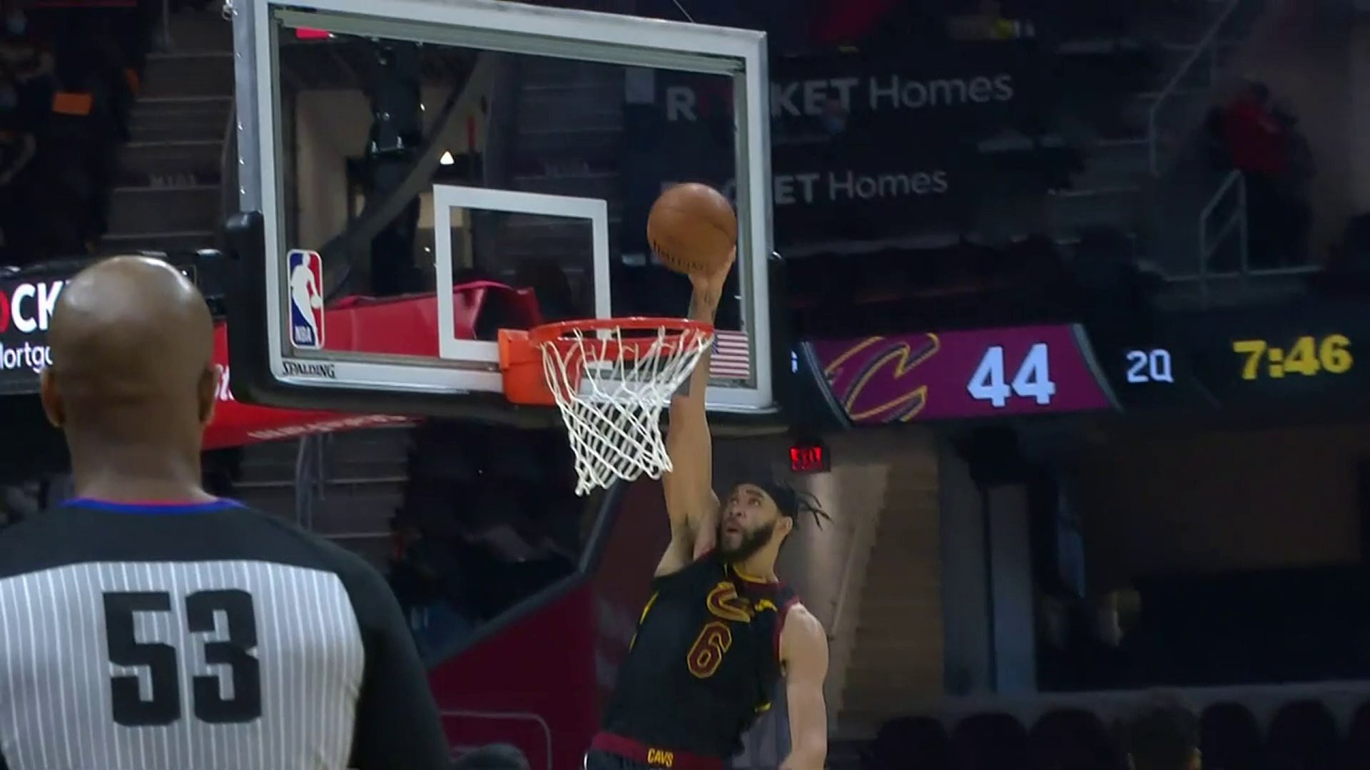 DG to McGee for the Dunk