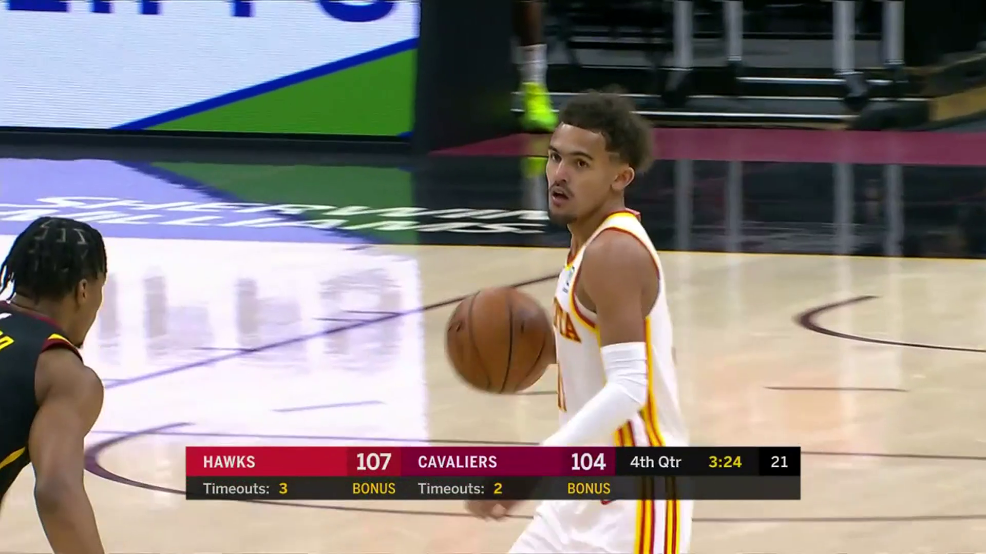 Young Leads Hawks With 28 Points in Close Contest vs. Cavs