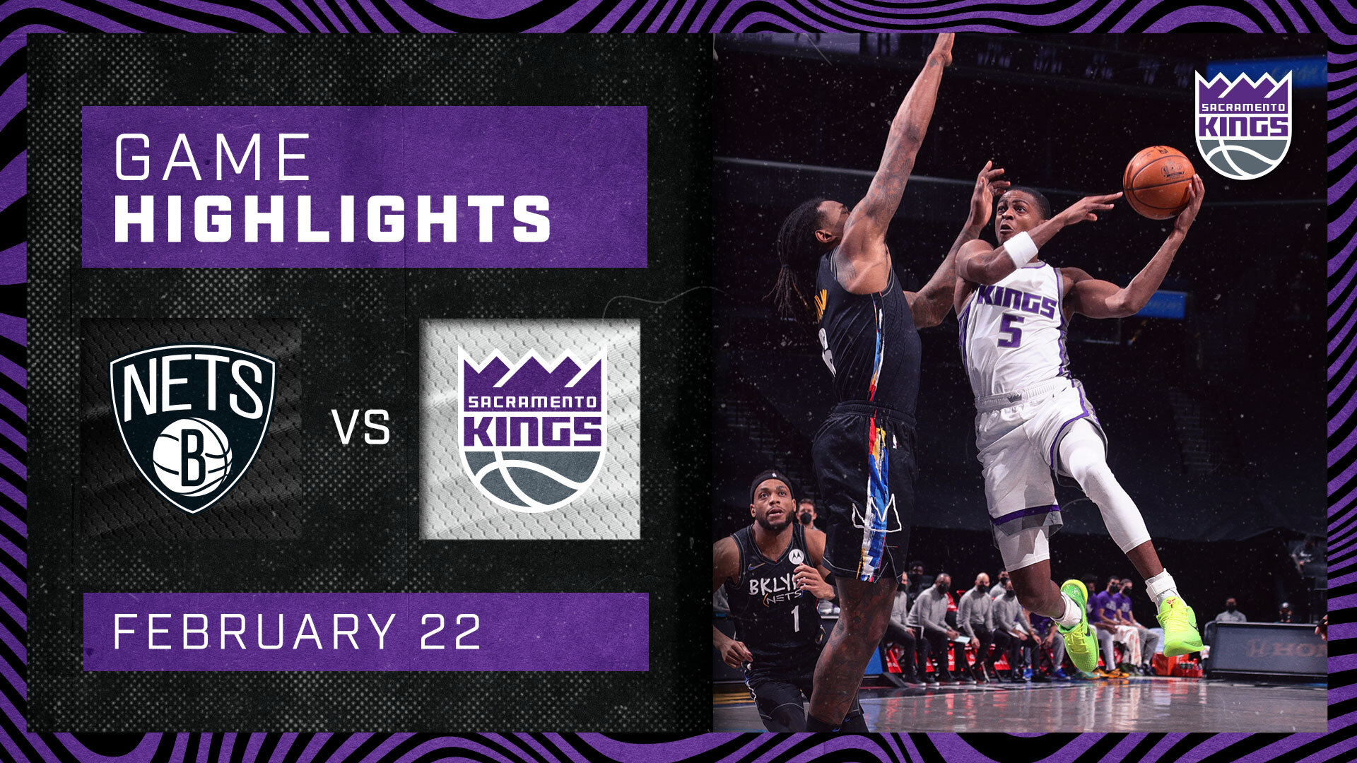 Kings Take Nets Down to the Wire | Kings vs Nets 2.23.21