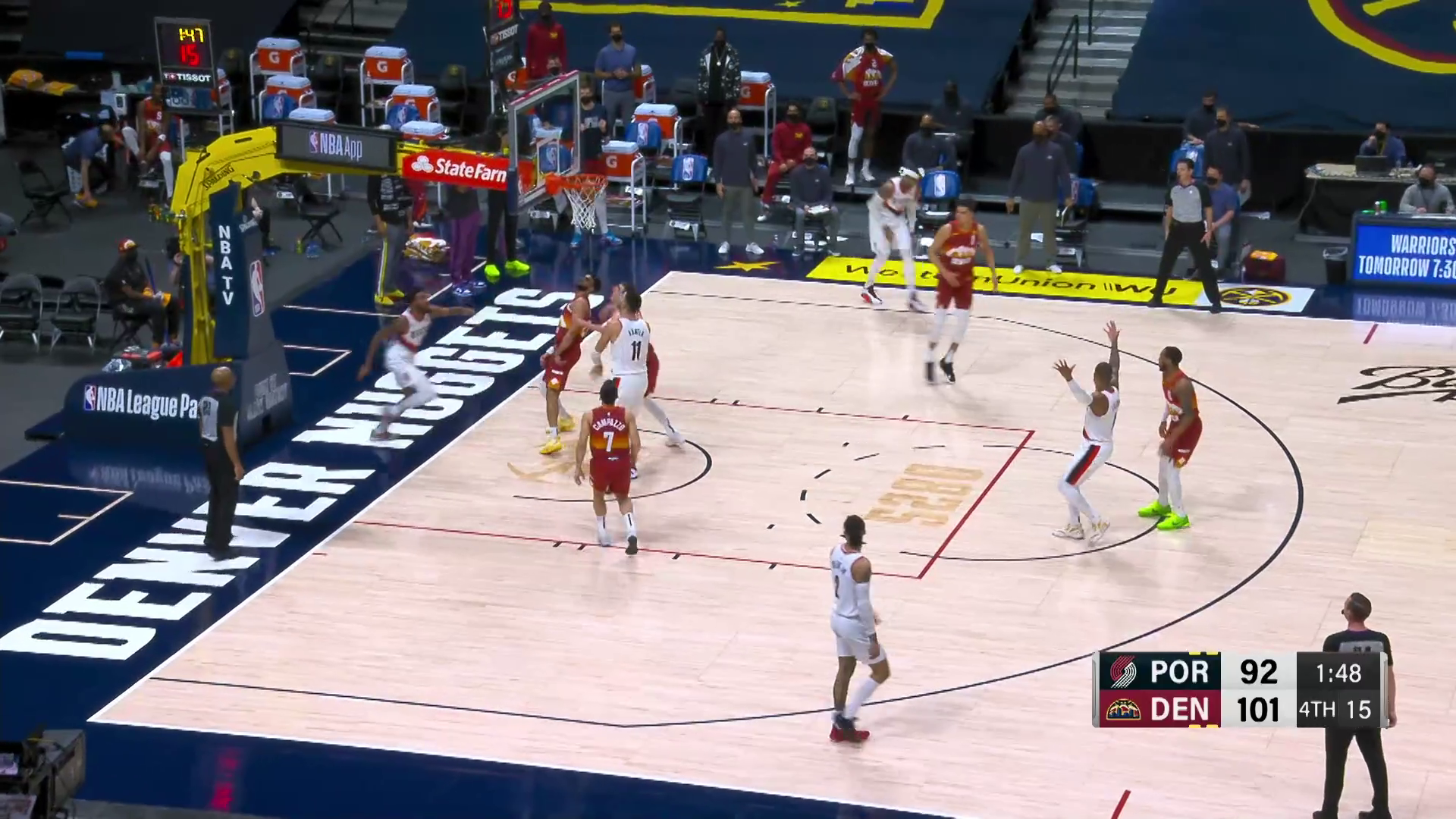Trail Blazers 106, Nuggets 111 | Game Highlights by McDelivery
