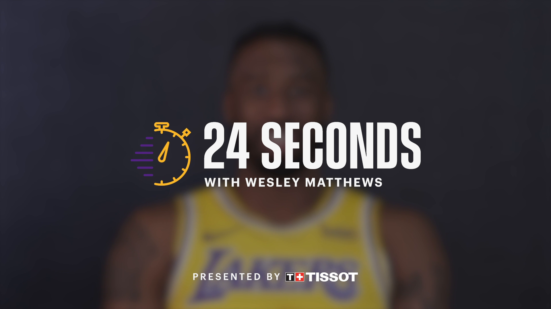 24 Seconds with: Wesley Matthews