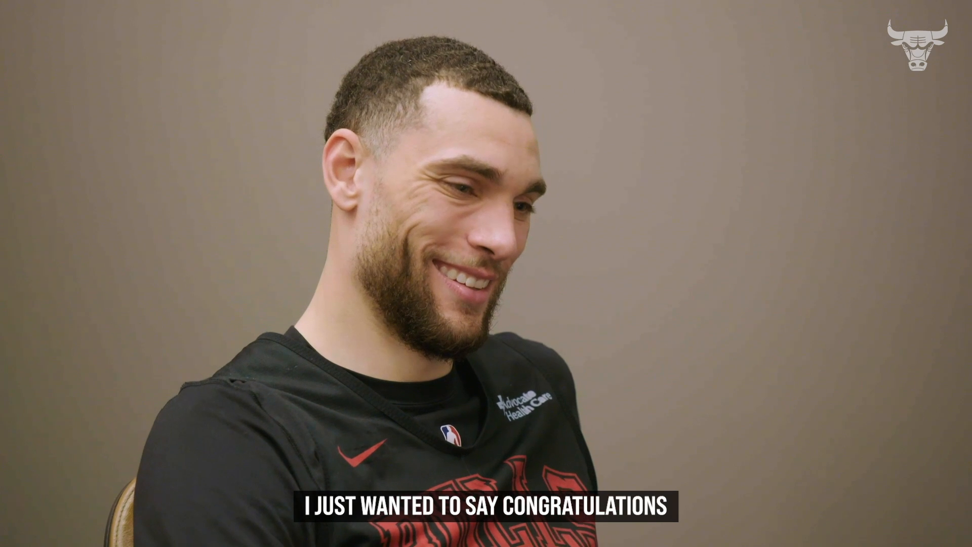 Zach LaVine Reaction to Fan Congratulations