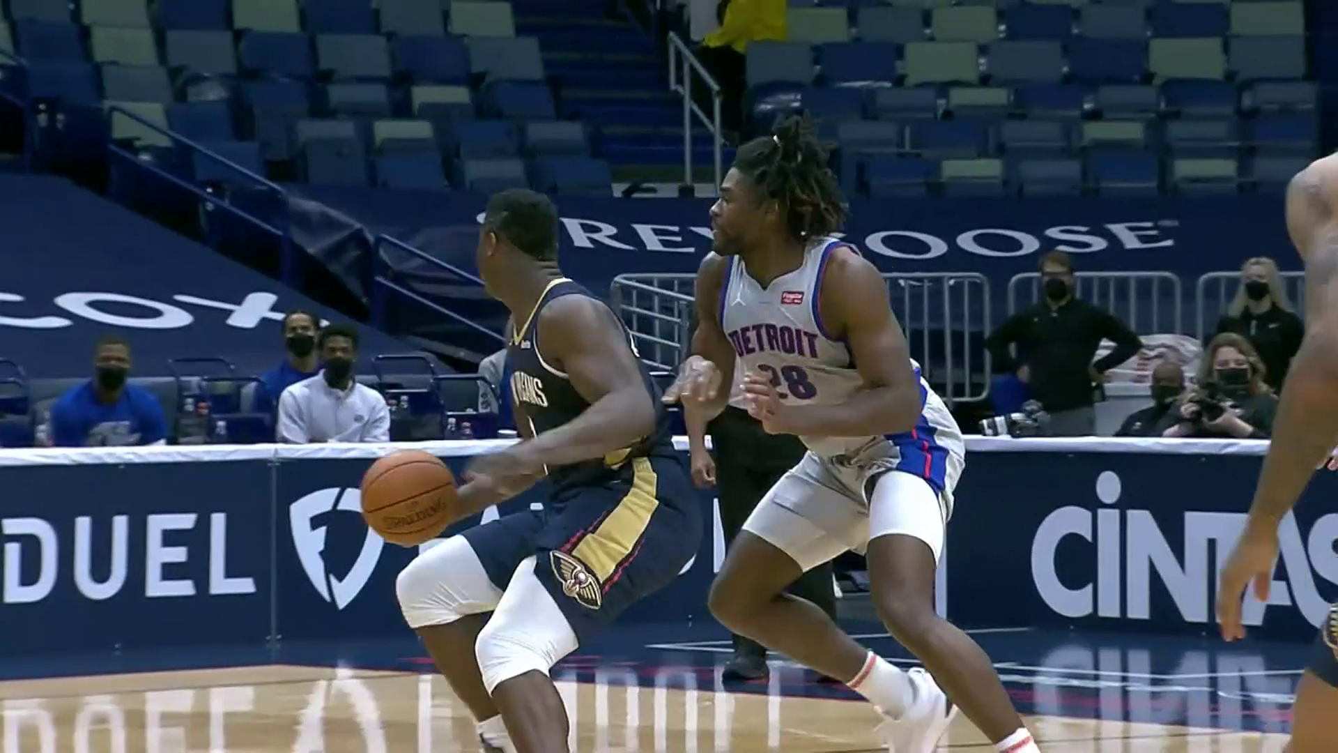 New Orleans Pelicans Highlights vs. Detroit Pistons