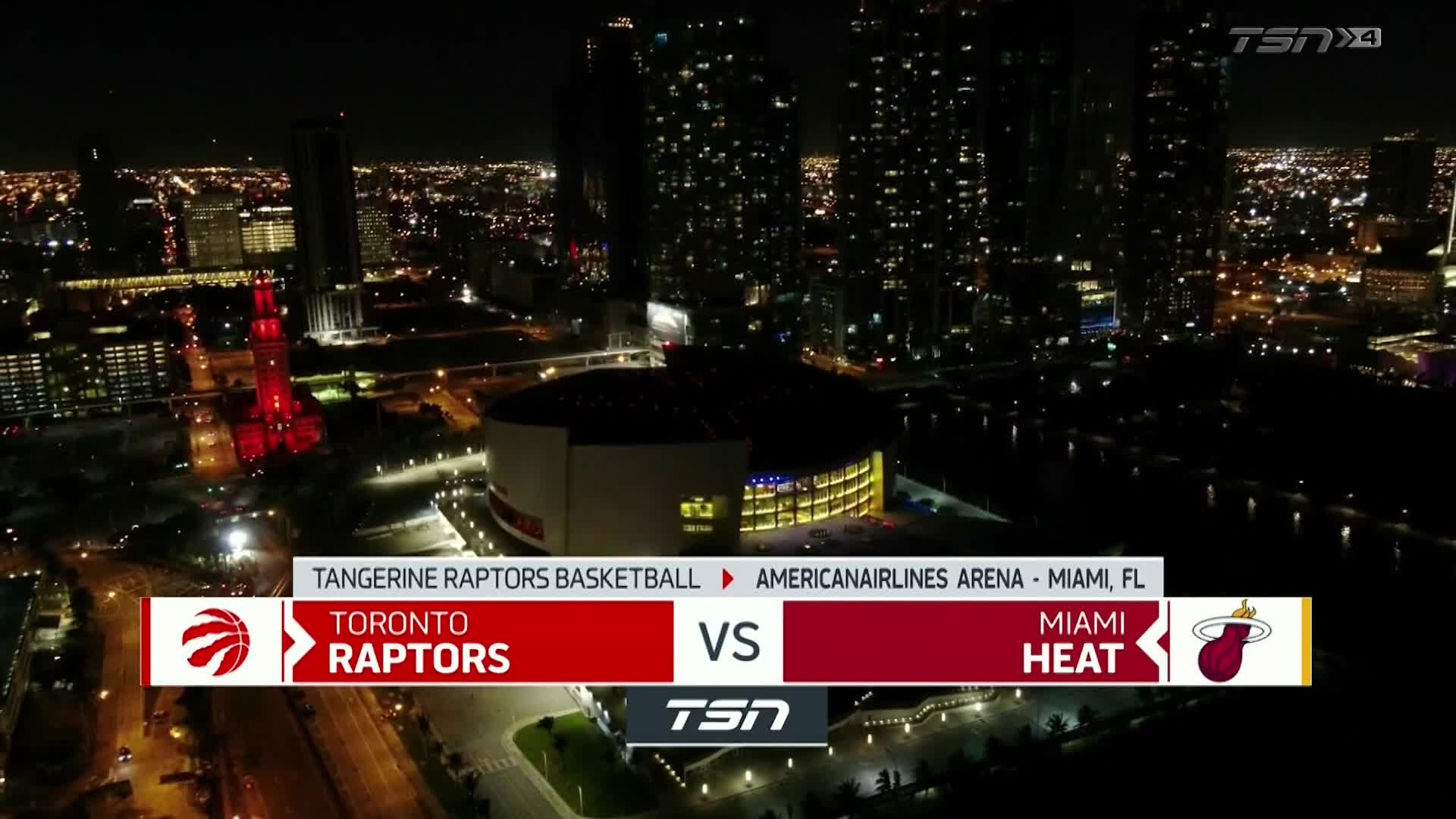 Tangerine Game Highlights: Raptors at Heat - February 24, 2021