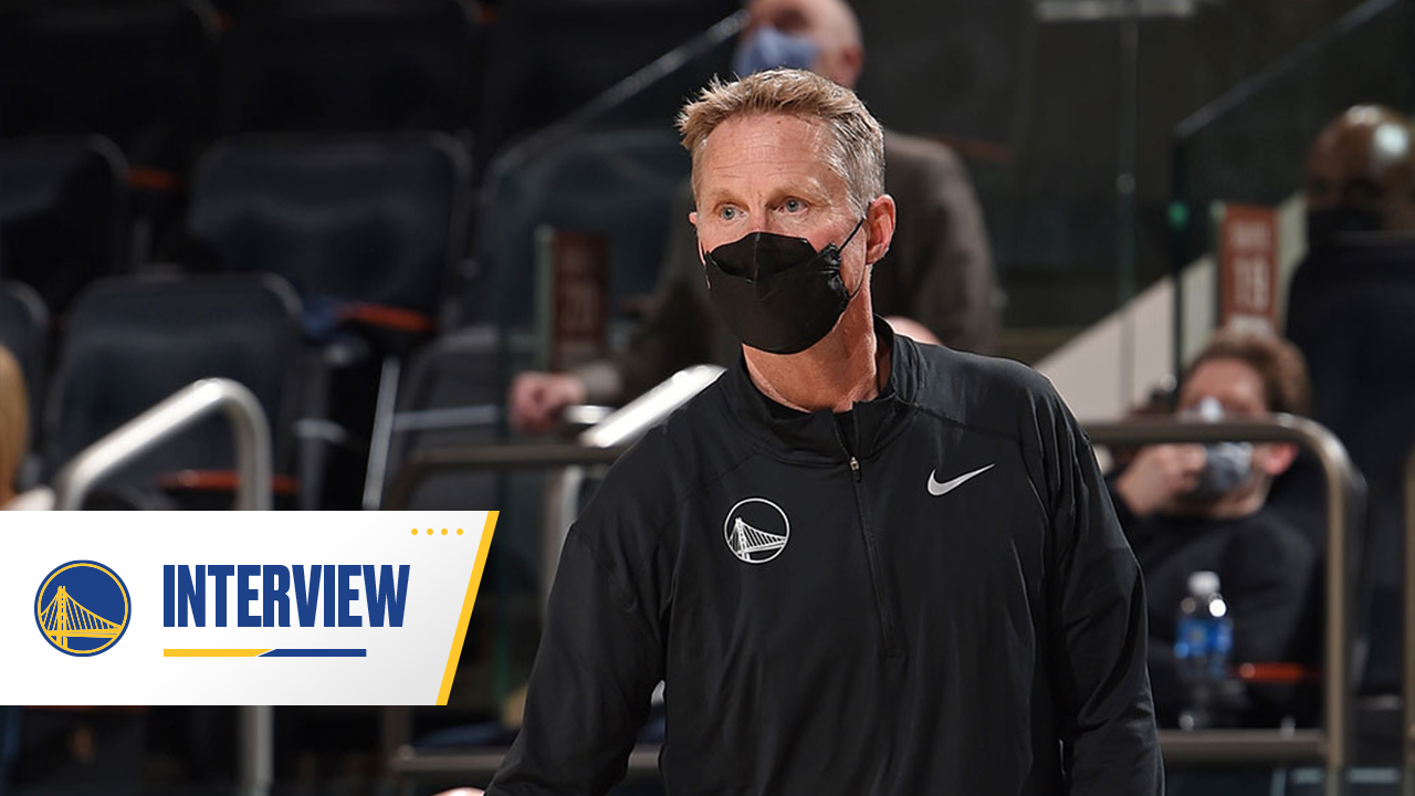Postgame Warriors Talk: Steve Kerr - 2/24/21