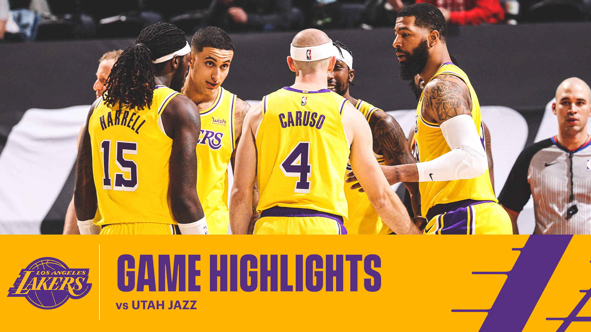 HIGHLIGHTS | Los Angeles Lakers at Utah Jazz