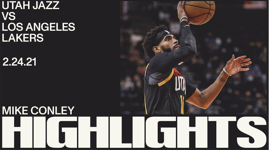 Highlights: Mike Conley — 14 points, 8 rebounds
