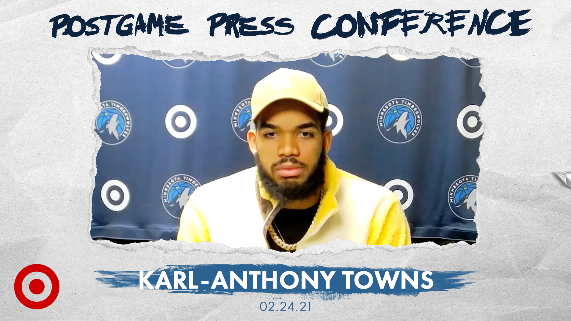 Karl-Anthony Towns Postgame Press Conference - February 24, 2021