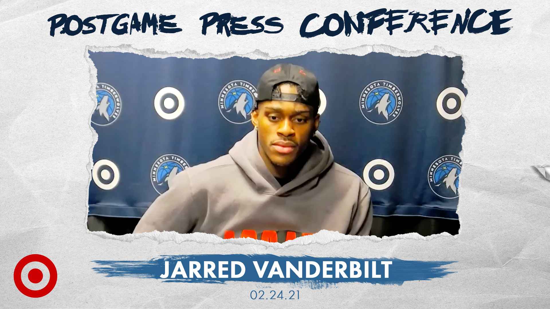 Jarred Vanderbilt Postgame Press Conference - February 24, 2021