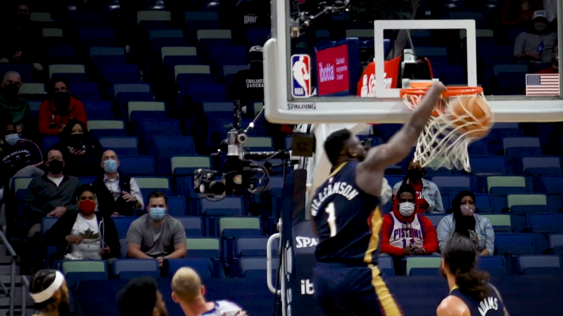 Pelicans vs. Pistons Slo-Mo Highlights 2/24/21