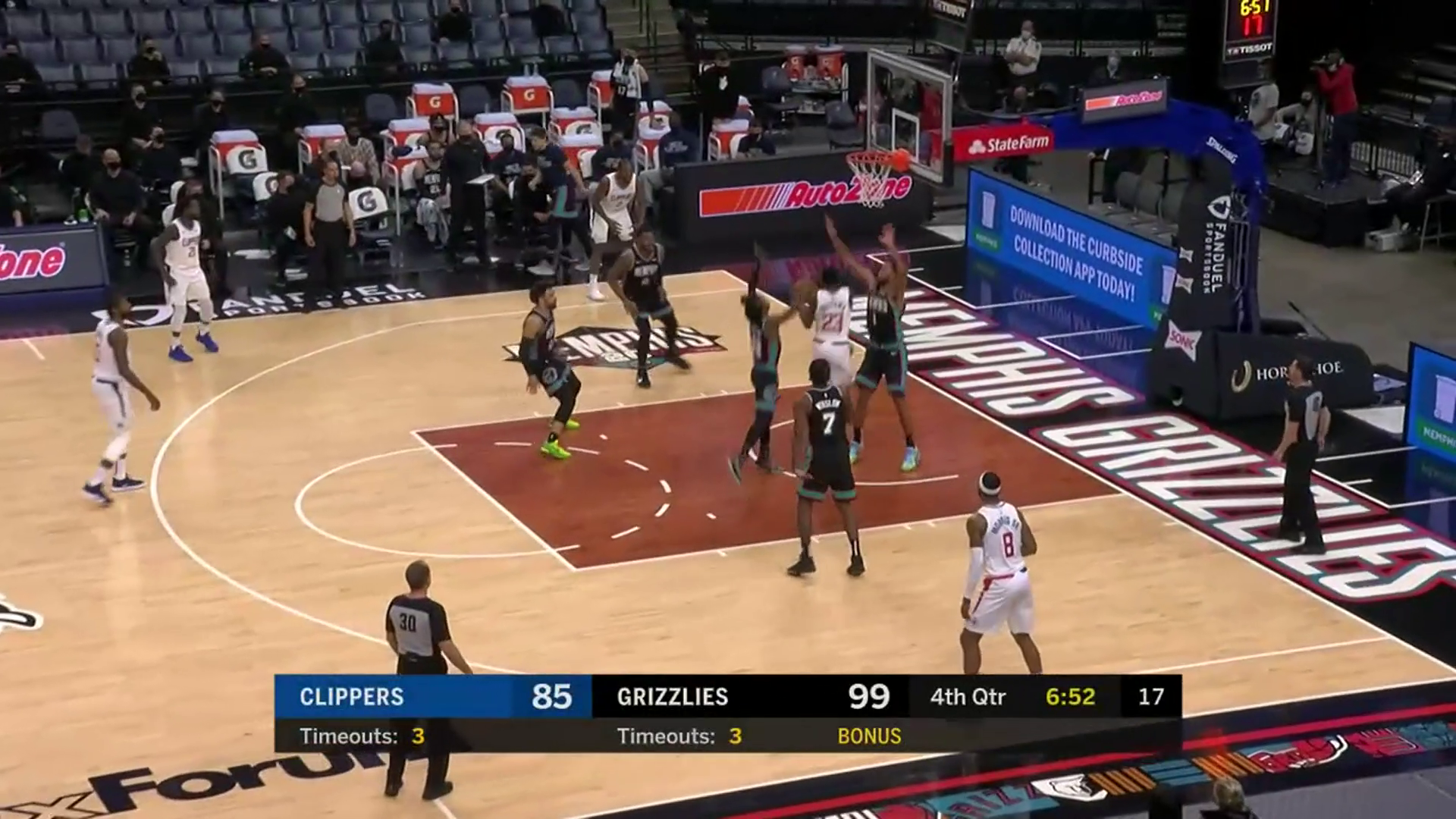 Grizzlies vs. Clippers highlights 2.25.21