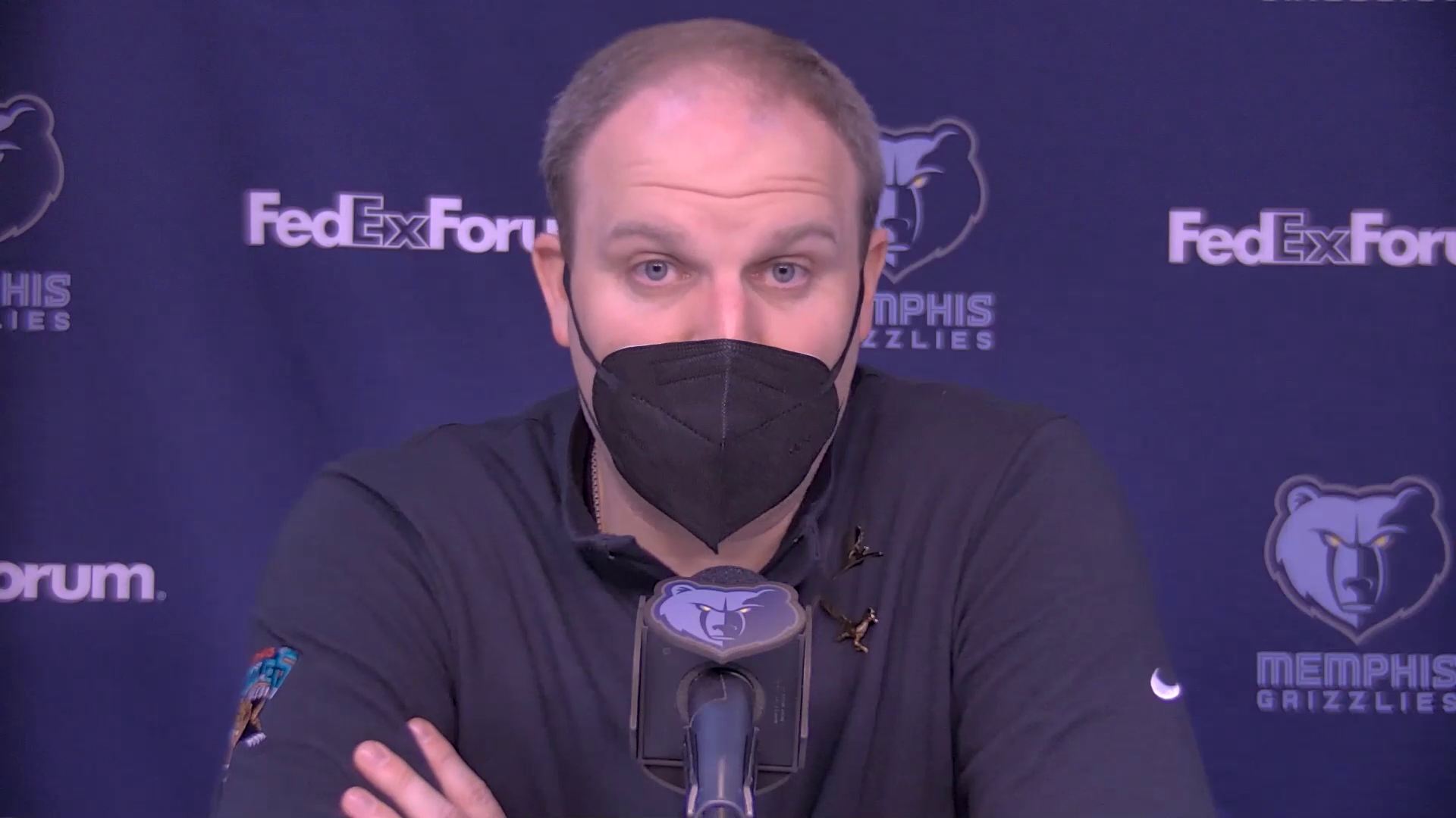 MEMvLAC: Postgame press conference 2.25.21