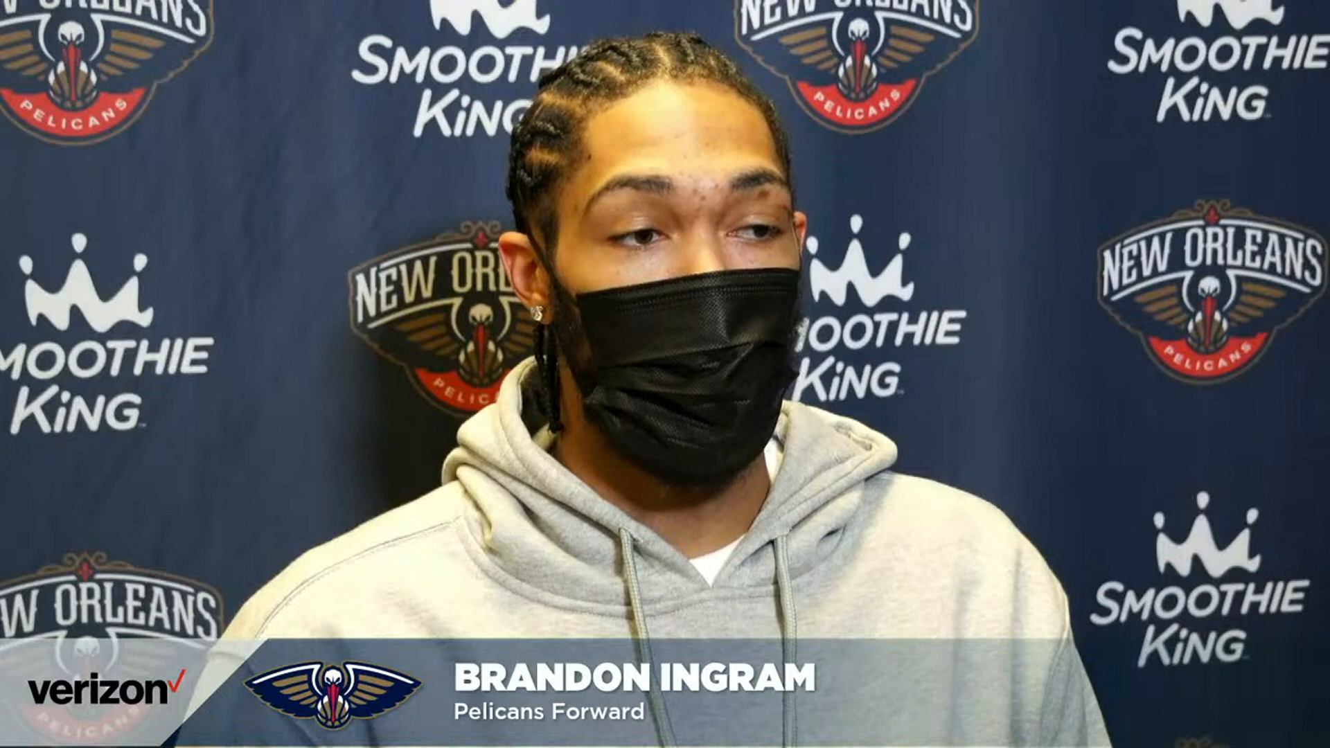 Pelicans-Bucks Postgame: Brandon Ingram 2-25-21