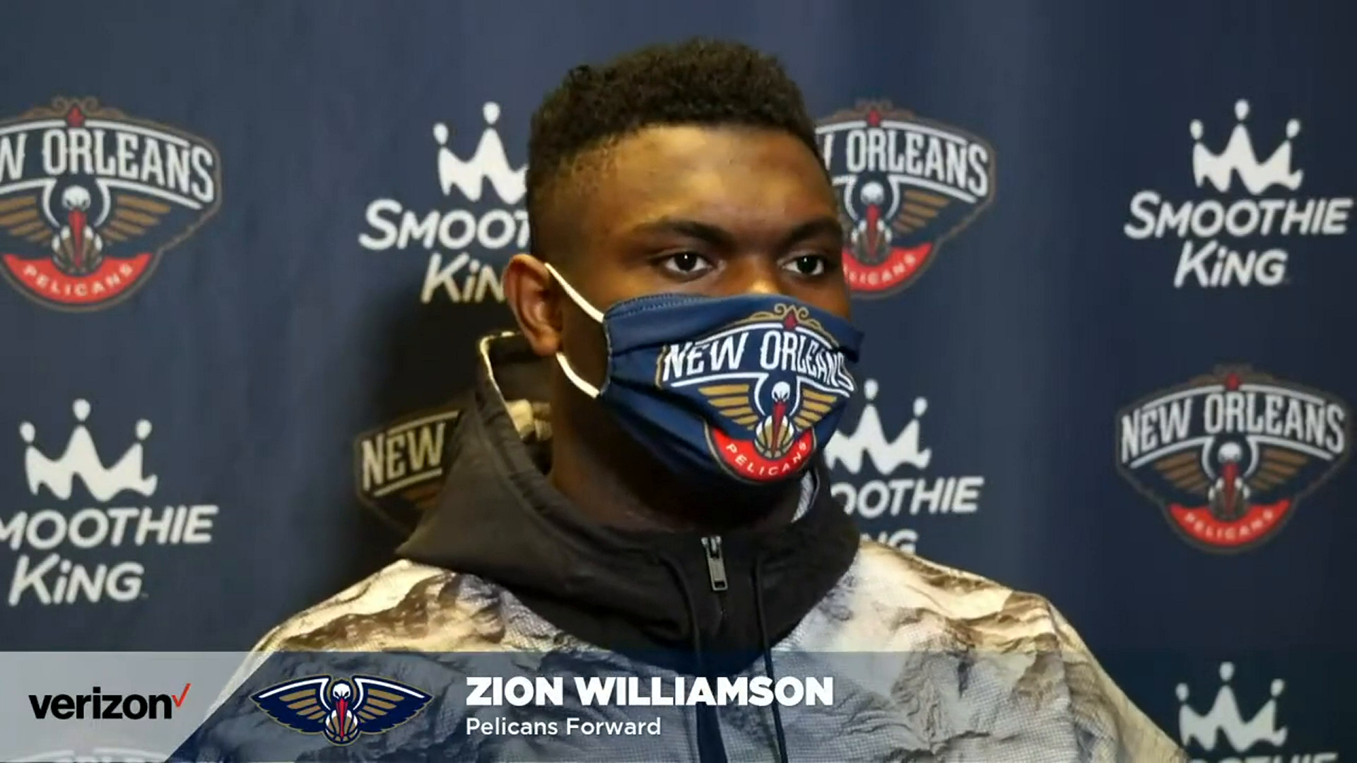 Pelicans-Bucks Postgame: Zion Williamson 2-25-21