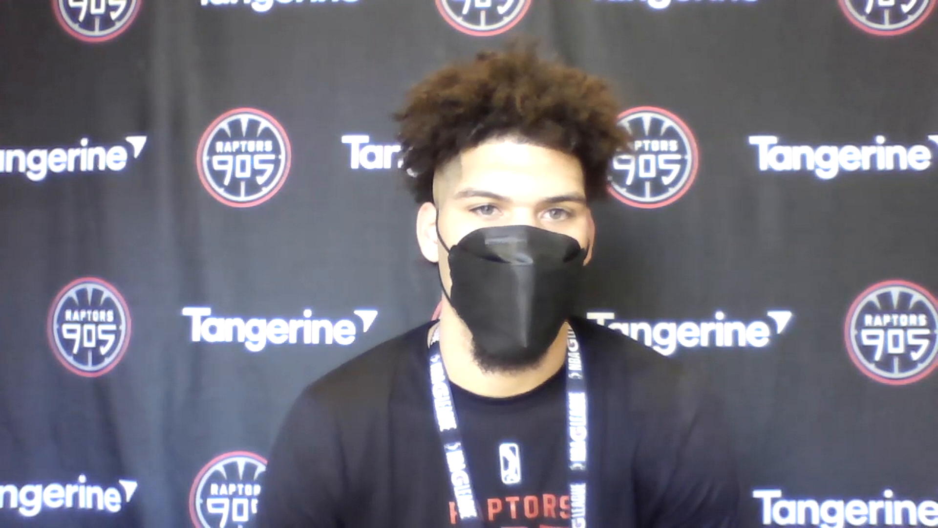 Raptors 905 Pre Game: Jarron Cumberland - February 26, 2021