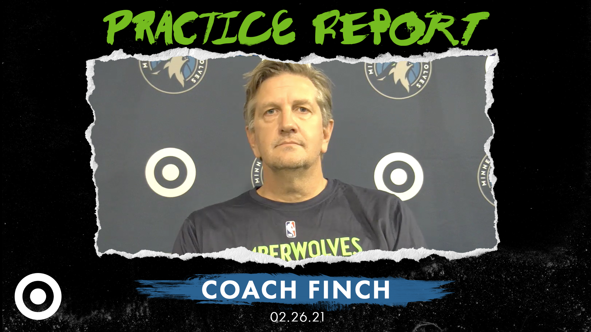 Coach Finch Practice Report - February 26, 2021