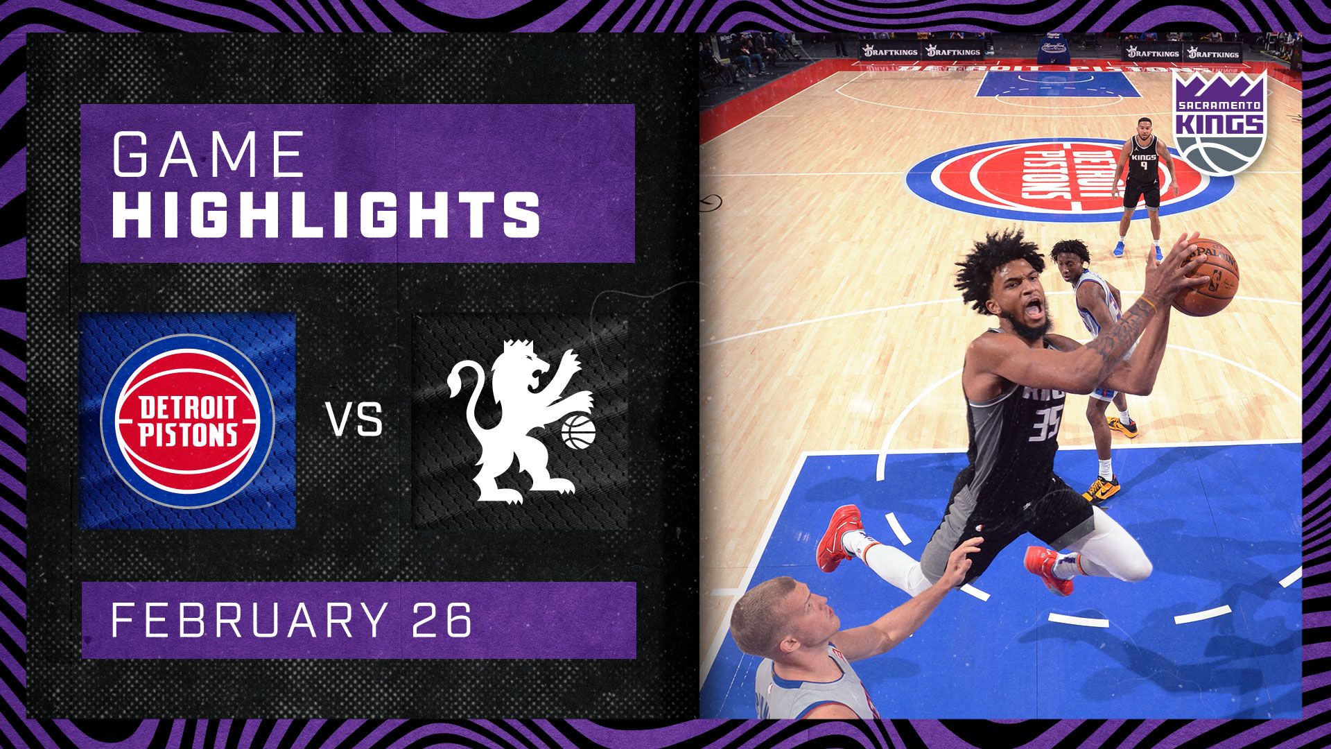 Kings Break the Streak with a WIN in Detroit! | Kings vs Pistons 2.26.21