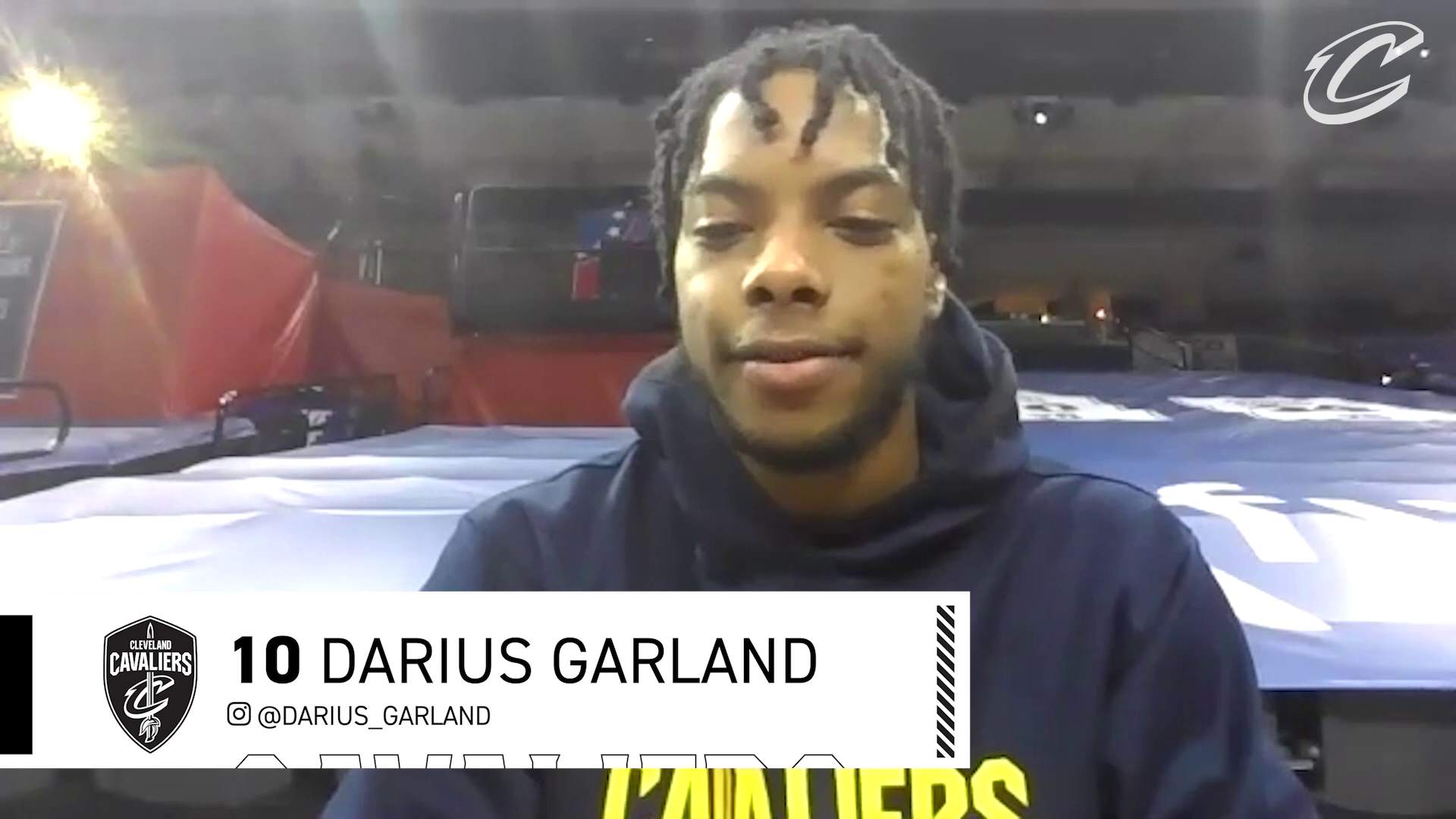 Cavs at 76ers Shootaround: Darius Garland