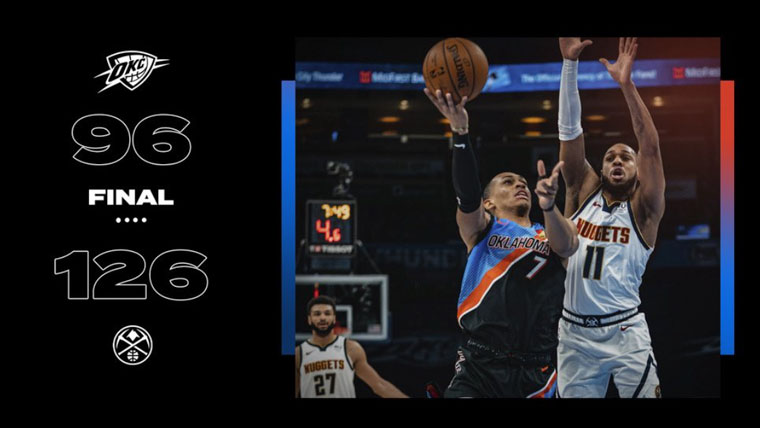 Highlights: Thunder vs. Nuggets