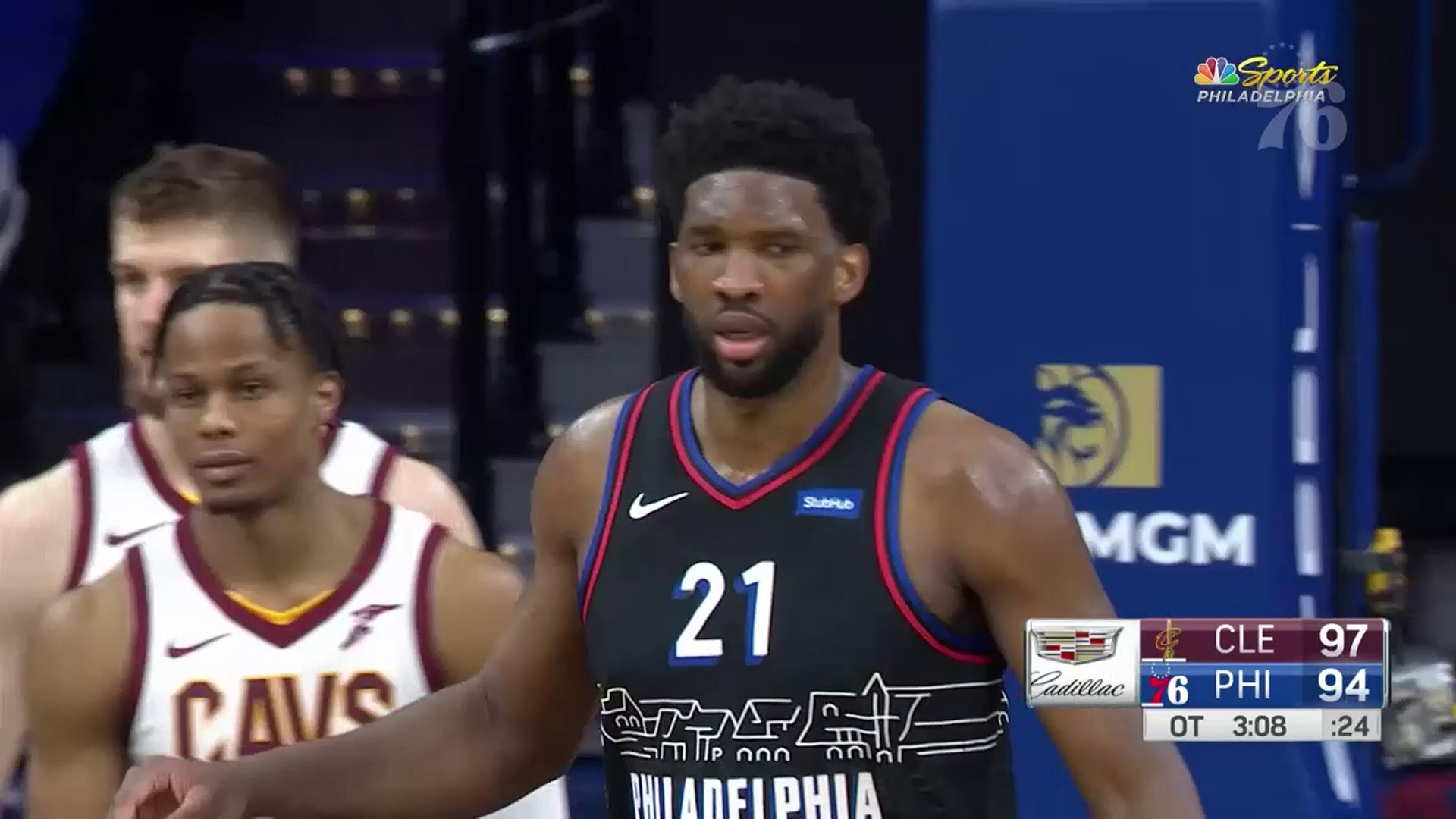 Joel Embiid | Highlights vs Cleveland Cavaliers (02.27.21)