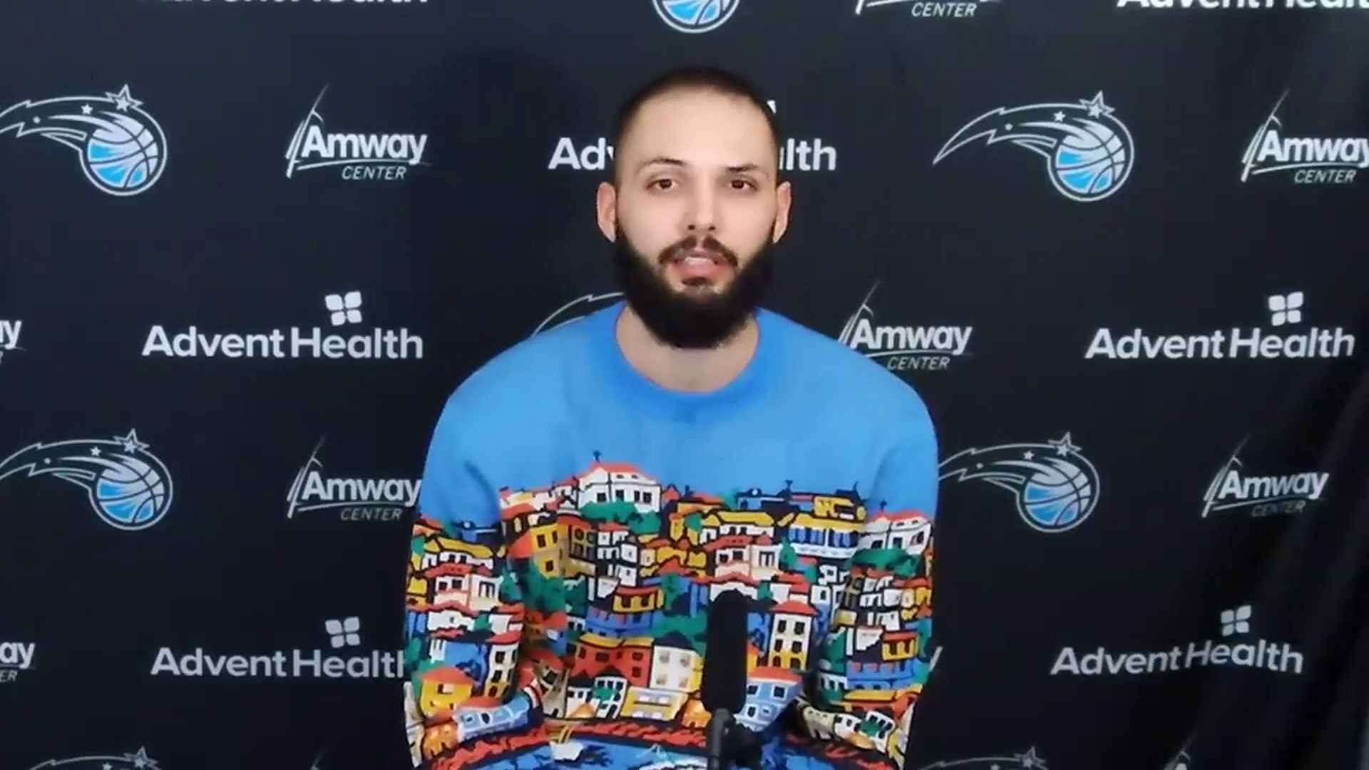 Jazz Postgame: Evan Fournier