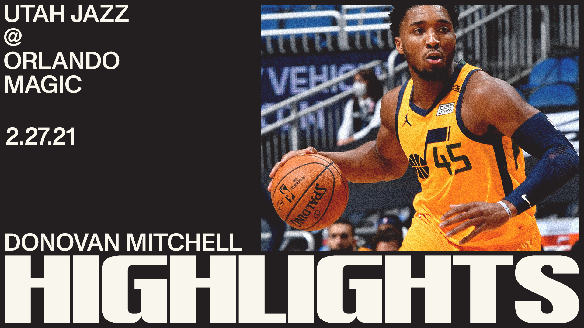 Highlights: Donovan Mitchell—31 points, 6 assists